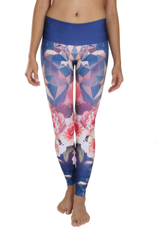 Geometric Rose {Pre-order} - Leggings - Butterfly Armor