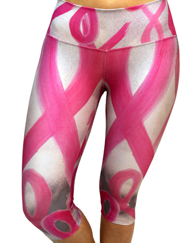 Pink Ribbon - Leggings - Butterfly Armor