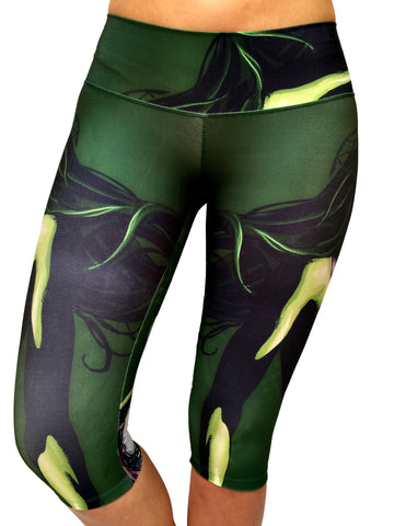 She Hulk Capri - Leggings - Butterfly Armor