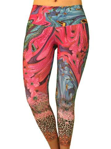 Wild Flower - Leggings - Butterfly Armor