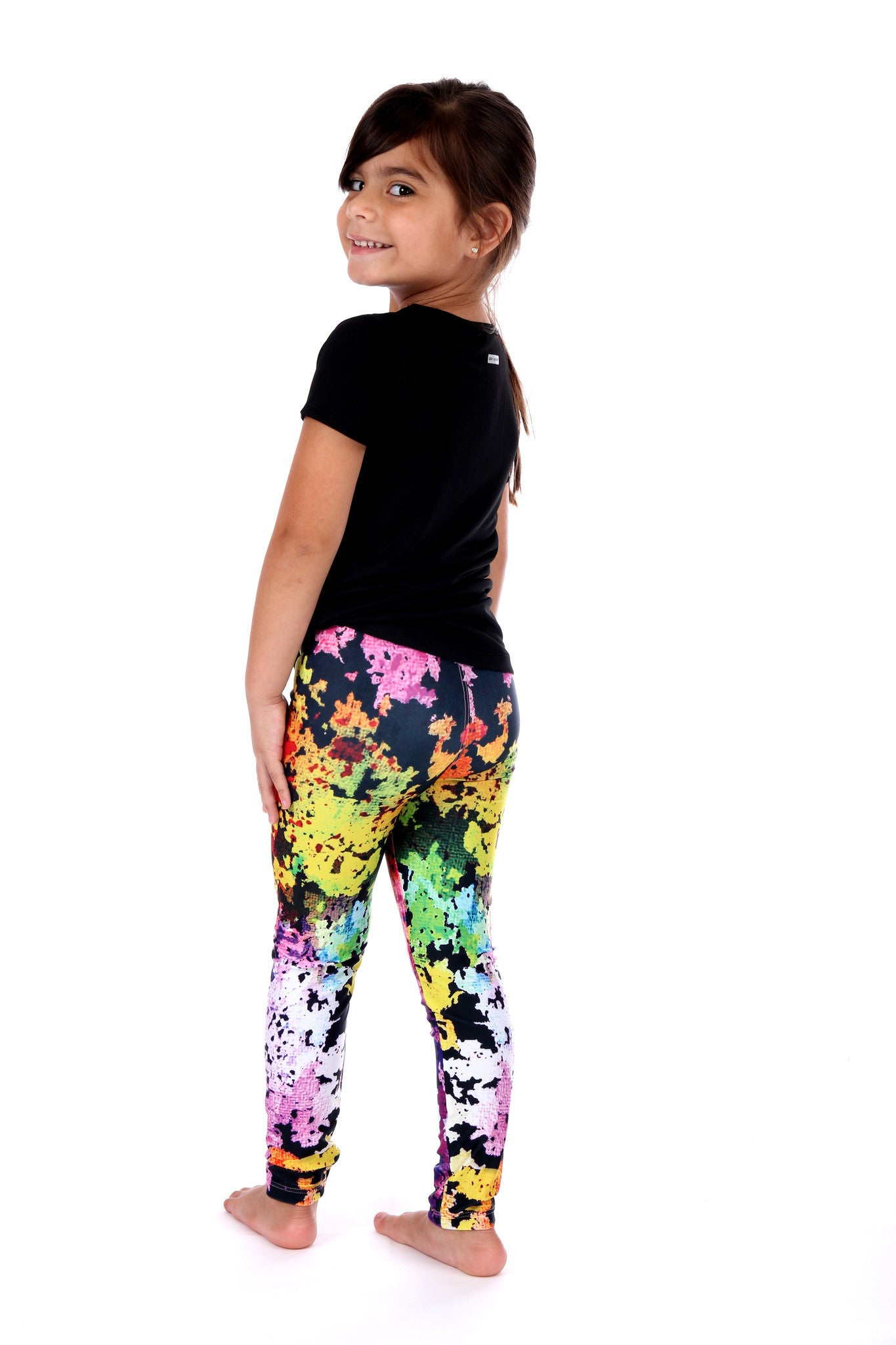 Colorful Craze Girls - Leggings - Butterfly Armor