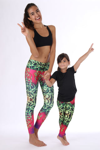 Design Girls - Leggings - Butterfly Armor