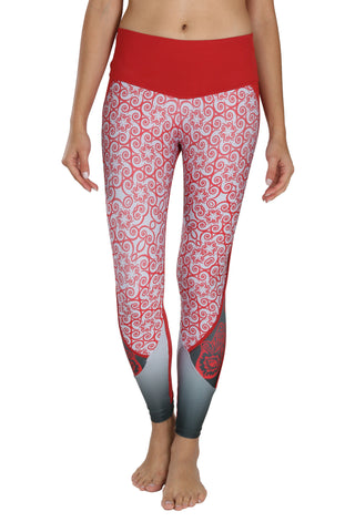 Splendid Red {Pre-order} - Leggings - Butterfly Armor