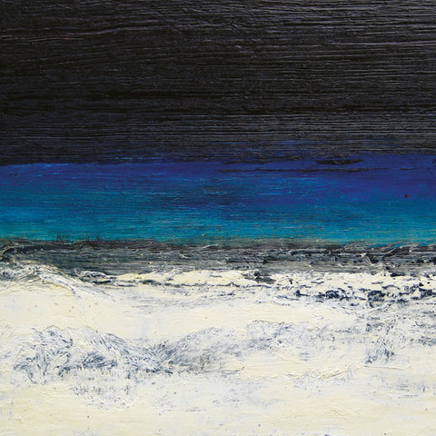 Andrew Palmer. Black Green White Seascape