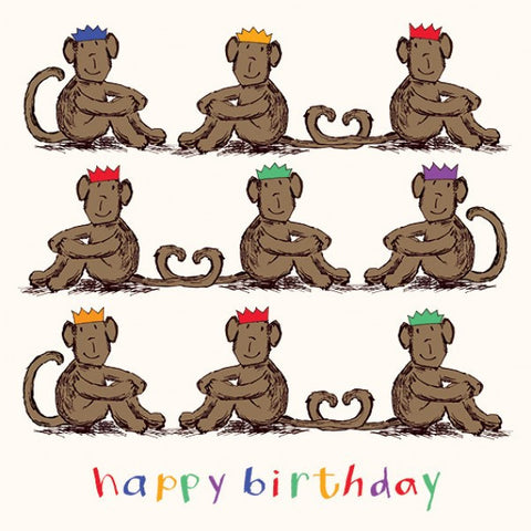 Happy Birthday little Monkeys