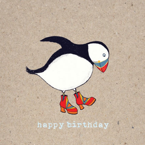 Birthday Puffin Boots