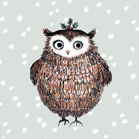 Small Festive Owl charity pack