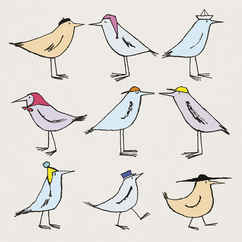 Hatted Birds