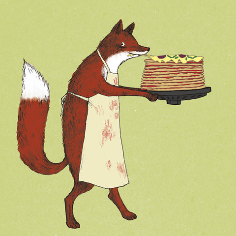CRUMB Fox's Pizza Cake