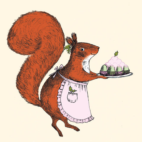 CRUMB Squirrel's Acorn Bundt