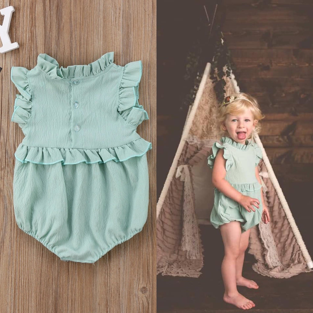 Aquamarine Dream Romper