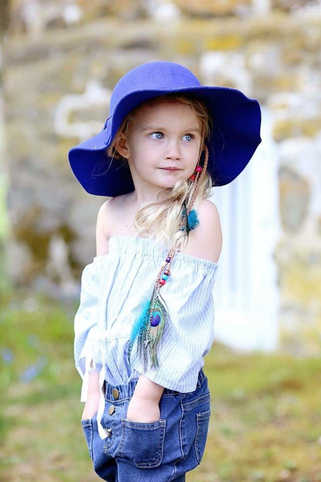 Greta Hat (royal blue)