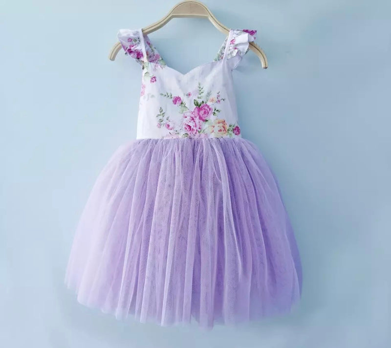 Wonderful Wisteria Frock
