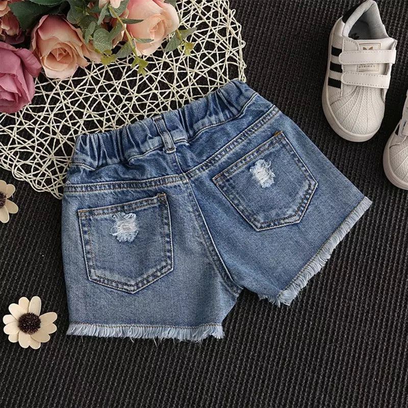 Boho Baby Cut-Off Shorts