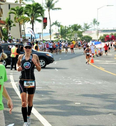 bethany rutledge triathlete at kona