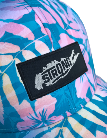 Long Island Strong Floral Strapback!!