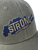 Long Island Strong American Flag Strapback hat