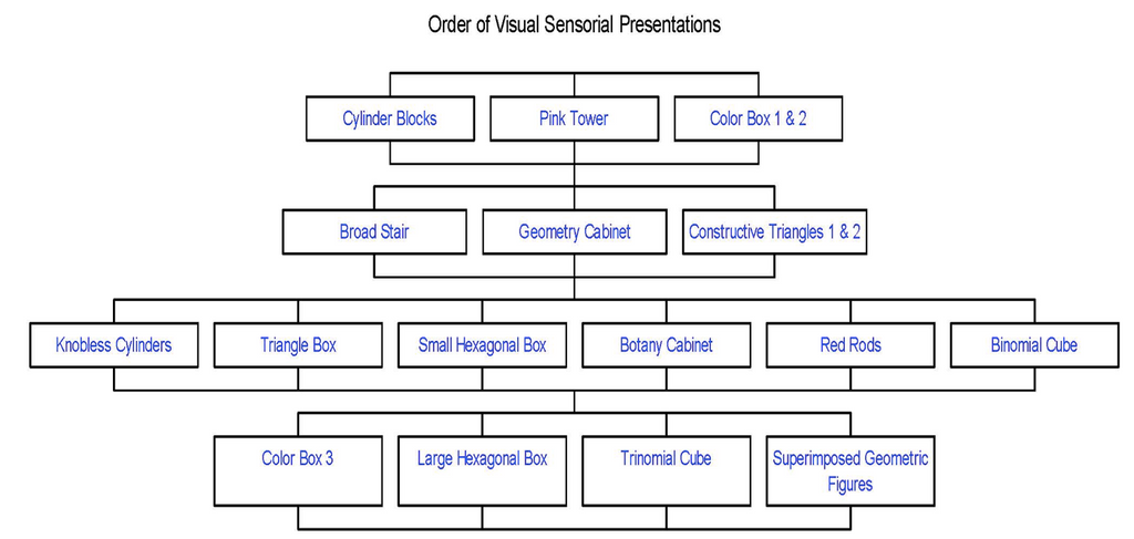 Sensorial Scope & Sequence: Visual