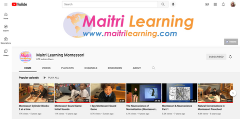 Maitri Learning YouTube channel