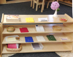Montessori Reading Shelves