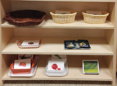 Montessori Spoken Language Shelves