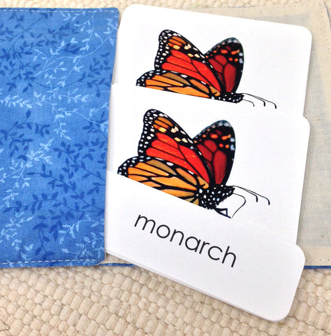 Butterflies 3-Part Reading - Maitri Learning