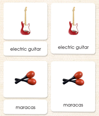 Imperfect Popular Musical Instruments 3-Part Reading - Maitri Learning