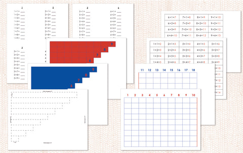Addition Strip Board PDF Download - Maitri Learning