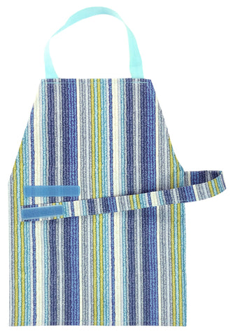 Aqua Stripe Aprons - Maitri Learning