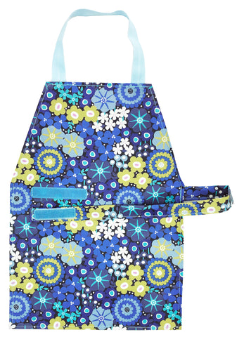 Blue Flower Aprons - Maitri Learning