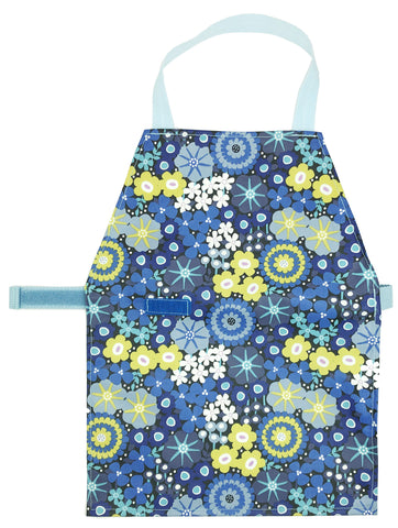 Discounted Blue Flower Aprons - Maitri Learning