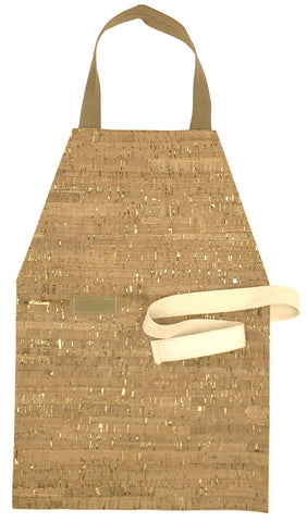 Discounted Golden Cork Aprons - Maitri Learning