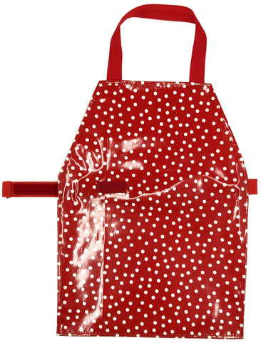 Discounted Red Slicker Aprons - Maitri Learning