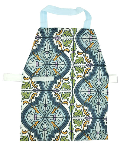 Discounted Blue Tile Aprons - Maitri Learning