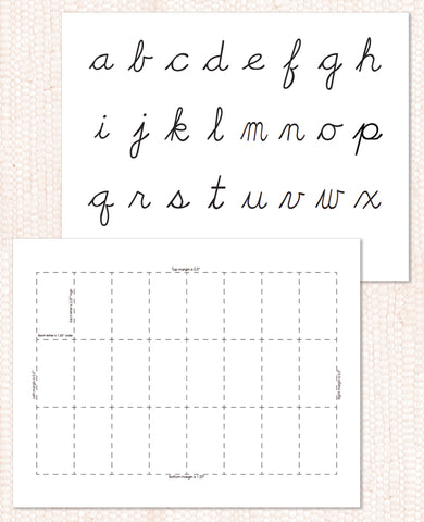 Black Movable Alphabet PDF Download - Maitri Learning