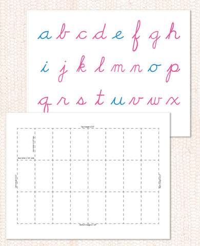 Movable Alphabet PDF Download - Maitri Learning