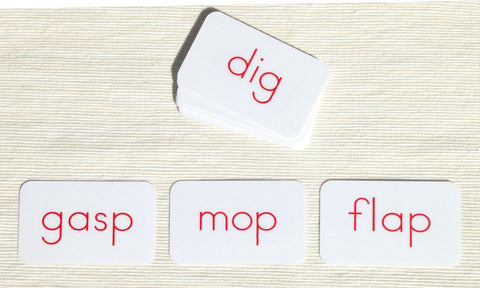 Phonetic Activity Cards - Maitri Learning  - 1