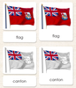 """Parts of"" the Flag <p>3-Part Reading - Maitri Learning"