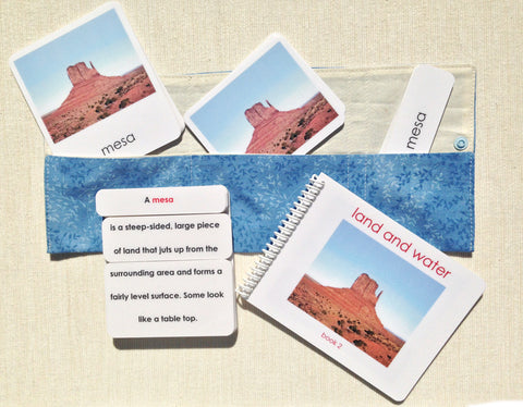 Land & Water 2 Book & Card Set - Maitri Learning
