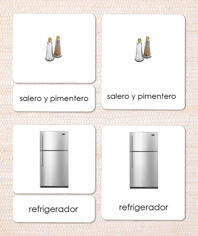 Spanish In the Kitchen 3-Part Reading
