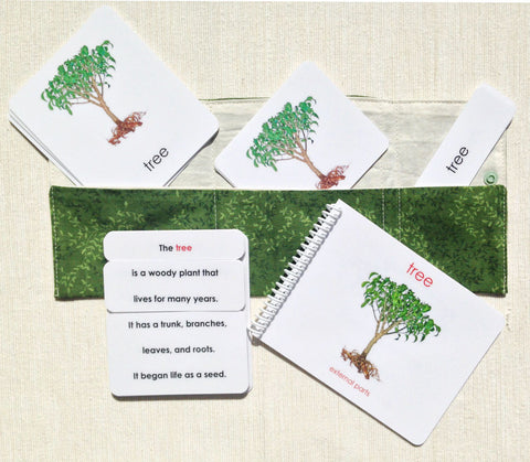 """Parts of"" the Tree Book & Card Set"