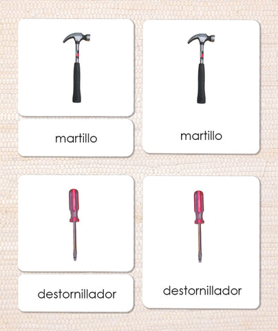 Spanish Tools 3-Part Reading - Maitri Learning