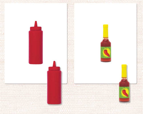 Condiments Object-to-Photo Matching - Maitri Learning