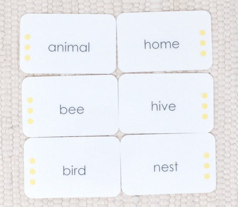 Animal Homes: Word Study - Maitri Learning  - 1