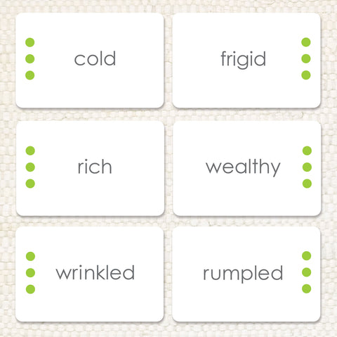 Imperfect Synonyms: Word Study - Maitri Learning