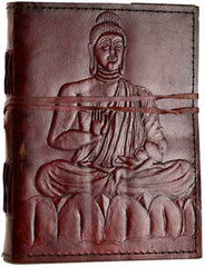 Buddah With Lock Leather