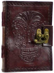Day of the Dead leather w/ latch