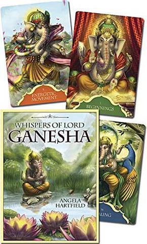 Whispers of Lord Ganesha deck by Angela Hartfield