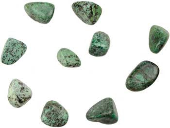 1 lb African Turquoise tumbled stones