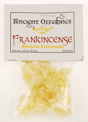 Frankincense Tears Granular incense 1 oz